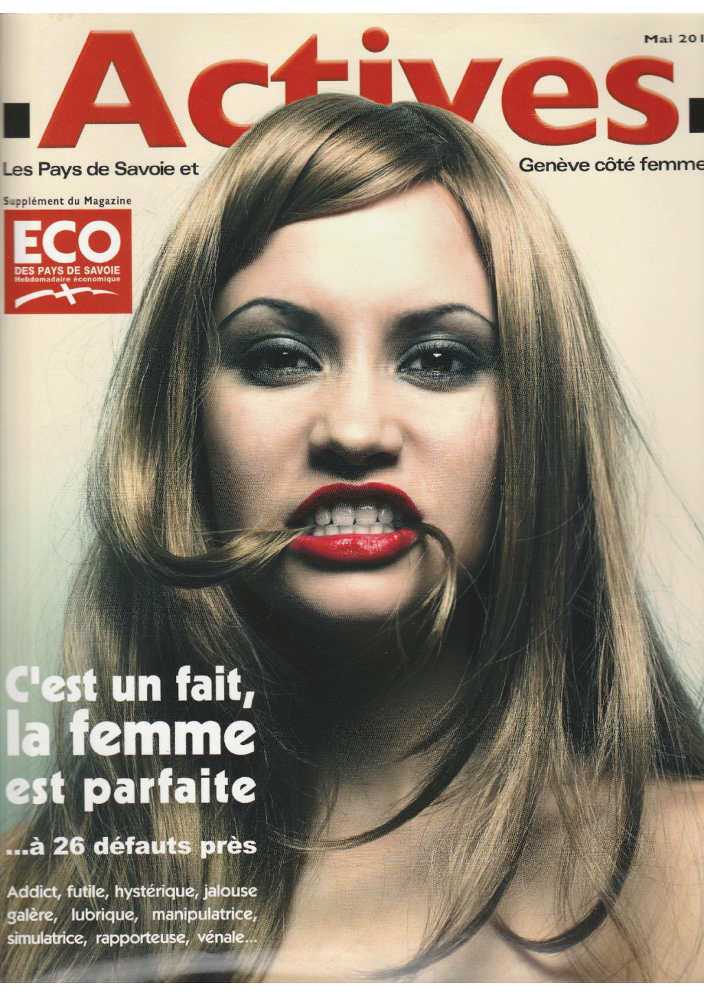 couverture magazine actives