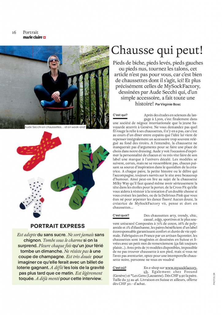 article de presse beaute