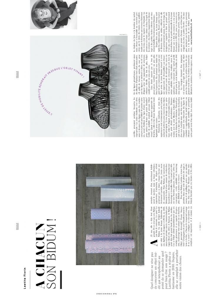 article de presse deco et design