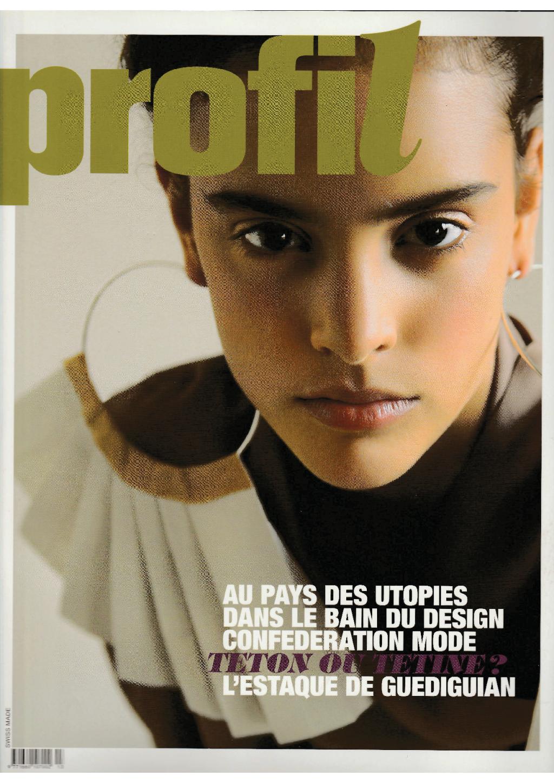 couverture magazine profil