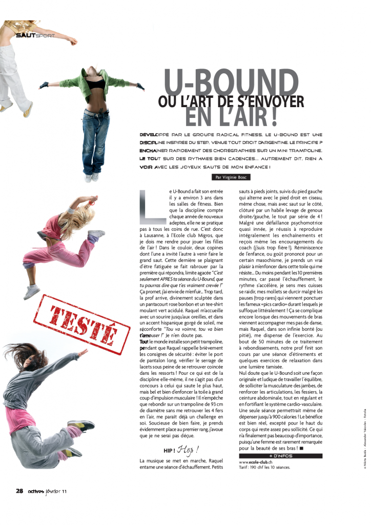 article de presse test